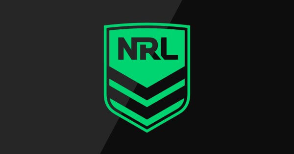 nrl logo green black background