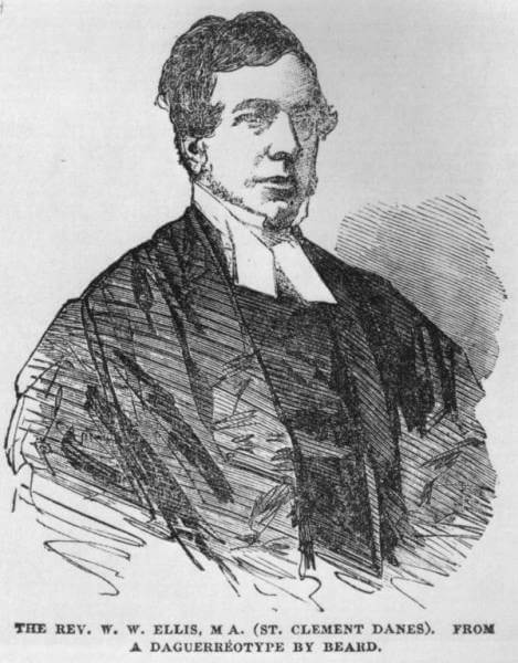 William Webb Ellis portrait